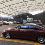 Lorbek luxury cars, supa-span, fabritecture, global fabric structures, PVC