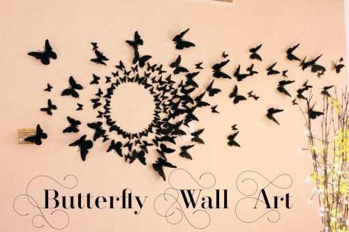 Medium Of Butterfly Wall Decor