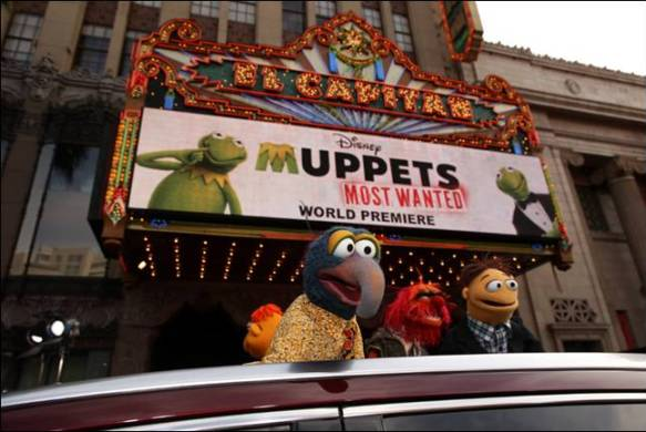 Muppets Most Wanted world premiere