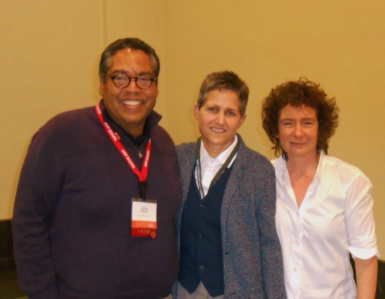 David Haynes, Heather Muller, and Jeanette Winterson, AWP 2013
