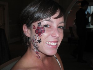 Face Painting Sexy Flower