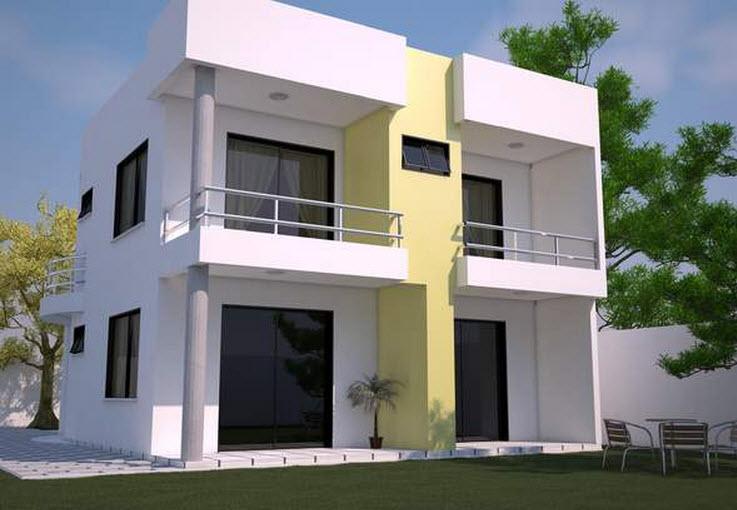 12 fachadas de casas modernas con terraza fachadas de for Modelos de casas con terrazas modernas
