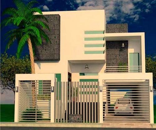 10 fachadas de casas modernas con rejas fachadas de On casas modernas con rejas