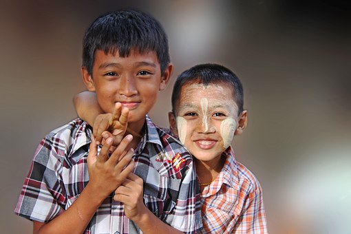 burmese-kids