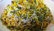 Fava Bean Rice - Baghali Polo باقالی پلو Fae's Twist & Tango