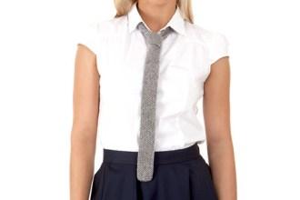 Strick-Krawatte for Ladies