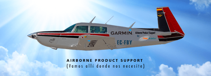 Airbone Product Support - Garmin - Fisacaviation