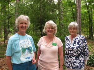 Left - right; Eleanor Hilsenrath, Barb Foster, Dorothy Hendrickson
