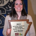 Outstanding Ag-In-The-Classroom Teacher