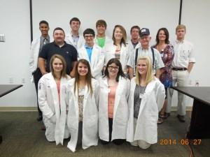 MASH Students-Ozark Health Medical Center-Clinton,Ar 6-27-2014