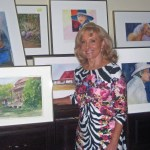 Fairfield Bay Library Features Artist Charlotte Rierson
