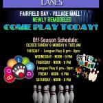 Fairfield Lanes Now Open