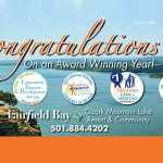 """Fairfield Bay Earns Recognition as a """"City of Distinction"""""""