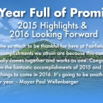 A Year Full of Promise – 2015 Highlights & 2016 Looking Forward