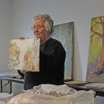Artist League Sponsors Multimedia Textural  Demonstration By Caren Garner