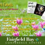 April Conference Center Events