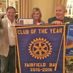 Fairfield Bay Rotary Wins  Club Of The Year For Arkansas