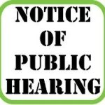 Public Hearing Invitation