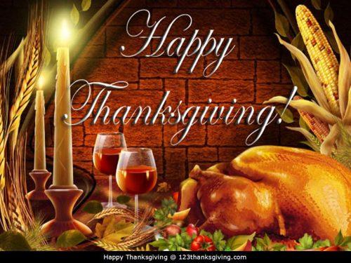Medium Of Happy Thanksgiving Image
