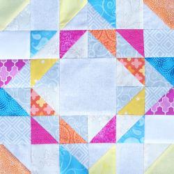 Faith and Fabric - February Bee Block