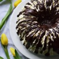 Inside-Out Ho Hos Lava Bundt Cake | Faith, Hope, Love, and Luck Survive Despite a Whiskered Accomplice