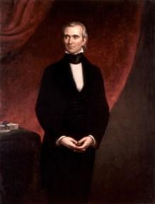 11th U.S. President JAMES KNOX POLK