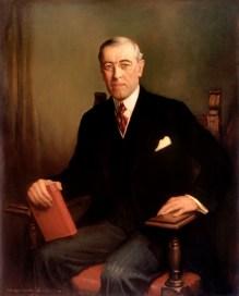 28th U.S. President THOMAS WOODROW WILSON
