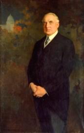 29th U.S. President WARREN GAMALIEL HARDING