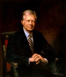 39th U.S. President JAMES EARL CARTER JR.