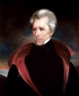 7th U.S. President Andrew Jackson