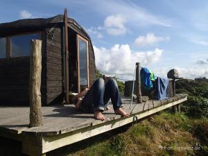 Couchsurfen im Hippieparadies - Auf Rossas Terrasse