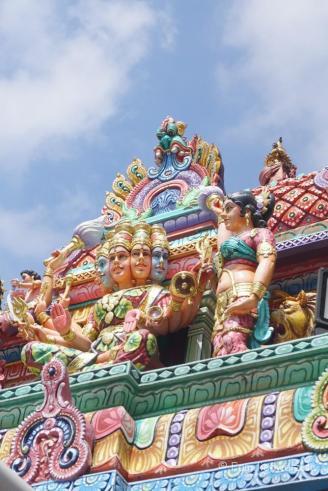 Hindu-Tempel in Little India