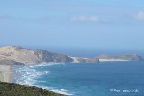 Ninety-Miles Beach auf der Nordinsel
