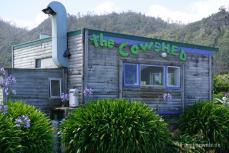 Cowshed Café beim Zeltplatz Gentle Annie/ Südinsel