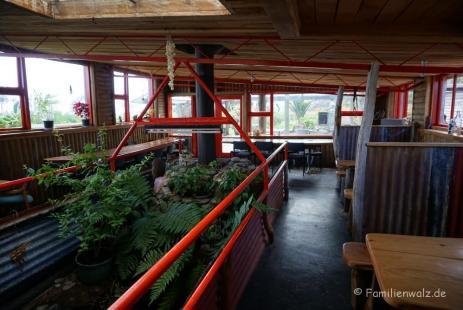 Cowshed Café beim Zeltplatz Gentle Annie