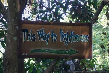 Wanderung über Apo Island