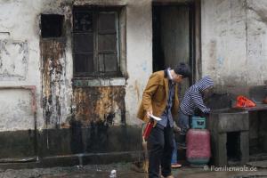 Zwischen Kälteschock und Schildkröten-Massaker - unsere ersten Tage in China - lecker!
