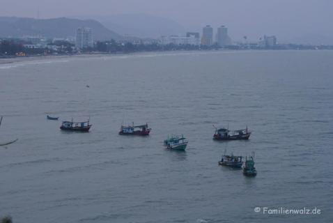 Sicht auf Hua Hin