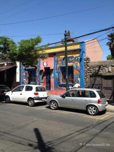 Santiagos schönste Ecken, Chiles schwere Geschichte und warum sie etwas mit uns zu tun hat - in Cerro san Christobal