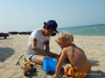 Am Strand von An Bang Beach