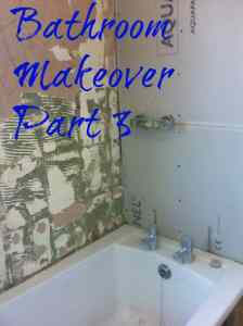 Bathroom makeover Part 3