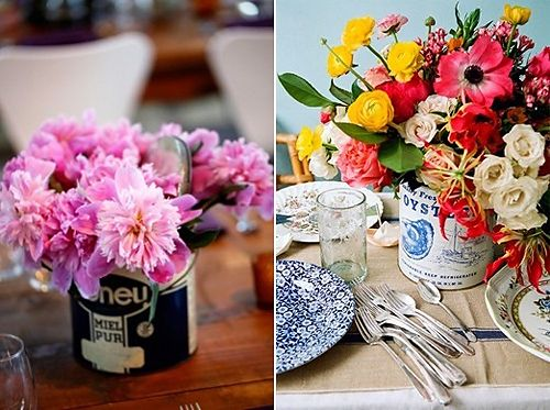 flower tins