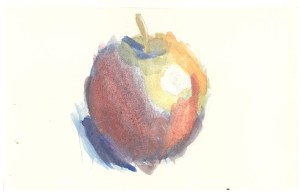 Large Fruit, Rory Pierce, Watercolor, February 2015