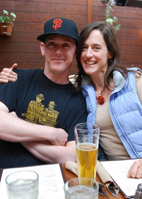 David and Mira, Spring 2011