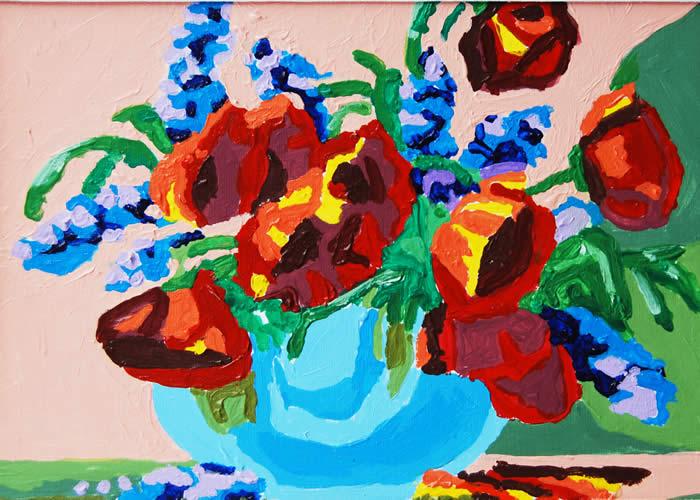 Still Life, Robert Pierce, Jr., Acrylic PBN, 2011