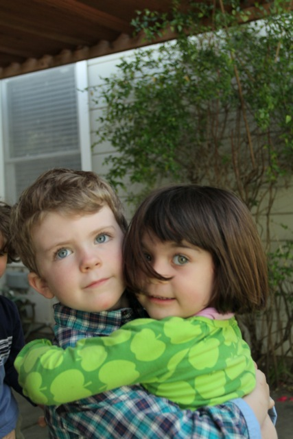 Jaydon and Caedryn, San Rafael, Spring 2013