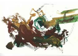 Machu Picchu, Rory Pierce, Acrylic on Paper, 2011