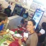 Dinner in the mercado.