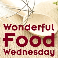 Wonderful Food Wednesday Button