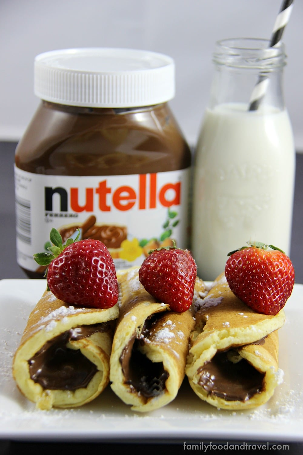 Nutella Pancake Rollups - the perfect way to change your pancakes and ...
